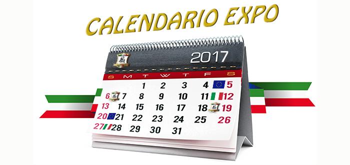 Calendario Esposizioni